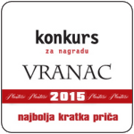 Konkurs za nagradu Vranac – Najbolja kratka priča 2015.