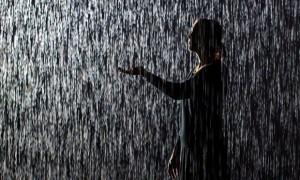 'Rain Room' installation