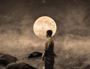 buddhist-monk_moon